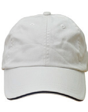 Picture of Winning Spirit - CH40 - Washed Unstructures Polo Cotton With Sandwich Cap