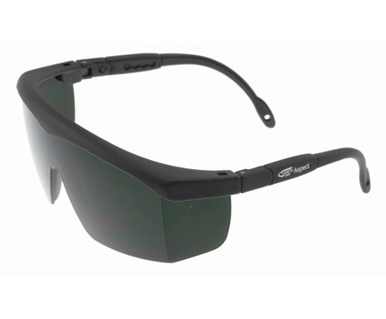 Picture of VisionSafe -130BKIR5 - IR5 Lens Anti-Fog Anti-Scratch Safety Glasses