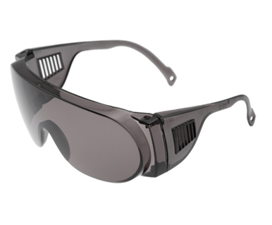 Picture of VisionSafe -209GYSD - Smoke Uncoated Safety Glasses
