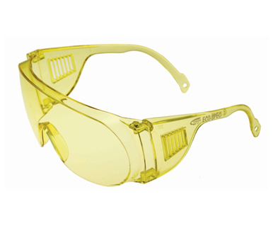 Picture of VisionSafe -209YWAR - Amber Uncoated Safety Glasses