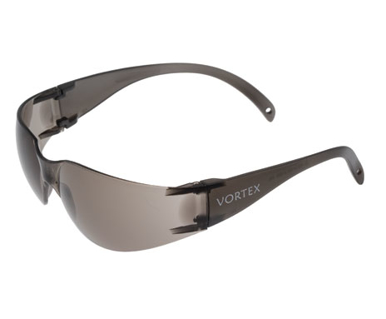 Picture of VisionSafe -212GYSD - Smoke Hard Coat Safety Glasses