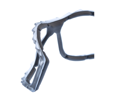 Picture of VisionSafe -125FGYSDAF - Smoke Anti-Fog Anti-Scratch Safety Glasses