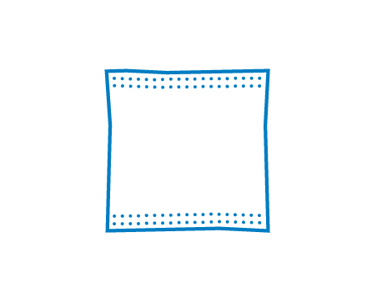 Picture of VisionSafe -FCCD10x10 - 10cm x 10cm Combine Dressing