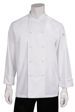 Picture of Chef Works - MUCC - Murray White LS Basic Chef Coat