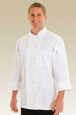 Picture of Chef Works - PKWC - Bordeaux Basic Chef Coat