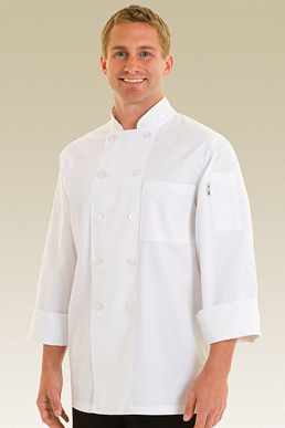 Picture of Chef Works - WCCW - Le Mans Basic Chef Coat