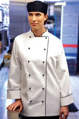 Picture of Chef Works - WICC - Lausanne Women's Executive Chef Coat
