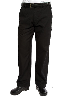Picture of Chef Works - PSER-BLK - Black Professional Series Pants