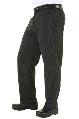 Picture of Chef Works - PSER-GST - Gray StripeProfessional Series Pants