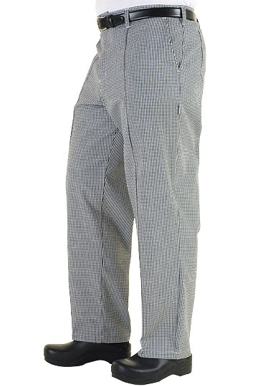 Picture of Chef Works - BWCP - Checkered Basic Chef Pant