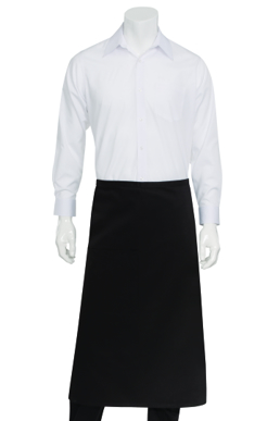 Picture of Chef Works - F24-CHO - Chocolate 34 Bistro Apron