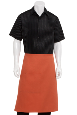 Picture of Chef Works - F24S-RUS - Rust Bistro Apron
