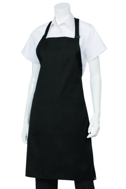 Picture of Chef Works - F8-RED - Red Butcher Bib Apron