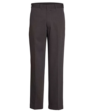 Picture of VAN HEUSEN - AVNT01CHA - VAN HEUSEN CHARCOAL FLAT FRONT, HIGH TWIST YARN, NAIL HEAD FABRIC TROUSER