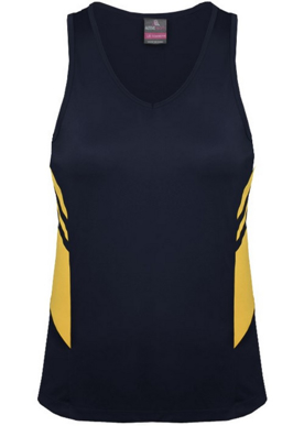 Picture of Aussie Pacific - 2111-Tasman Ladies Singlet Shirts