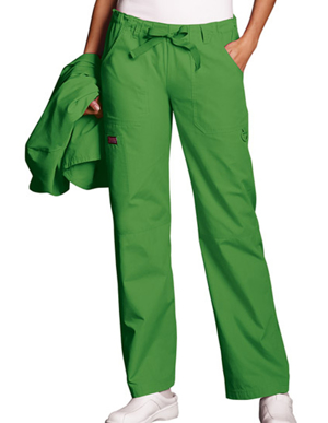 Picture of CHEROKEE- CH-4020P-Cherokee Workwear Women Petite Drawstring Scrub Pants