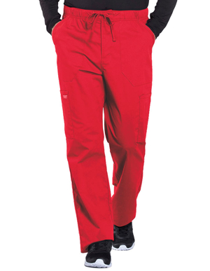Picture of CHEROKEE-CH-WW190-Cherokee Workwear Professionals Men's Tapered Leg Drawstring Cargo Pant