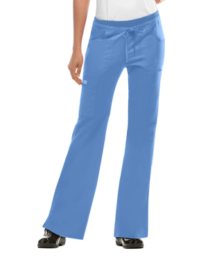 Picture of CHEROKEE-CH-24001T-Cherokee WorkWear Junior Fit Low-Rise Tall Drawstring Cargo Pant