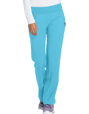 Picture of CHEROKEE-CH-CK002T-Cherokee iflex  Mid-Rise Straight Leg Cargo Tall Scrub Pant
