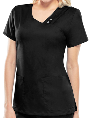 Picture of CHEROKEE-CH-1999-Cherokee Luxe Women's V-Neck Nursing Scrub Top