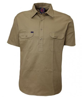 Picture of Ritemate Workwear-RM100CFS-Closed Front Shirts
