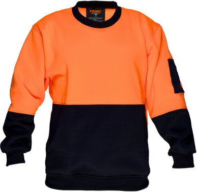 Picture of Prime Mover-MF117-Crew Neck single brush fleecy jumper