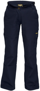 Picture of Prime Mover-ML708-Ladies Cotton Drill Cargo Pants