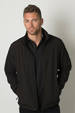 Picture of Be seen-BKSSJ750-Mens Soft Shell Jackets