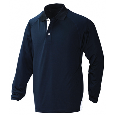 Picture of Stencil Uniforms-1042-Mens L/S TEAM POLO L/S POLO