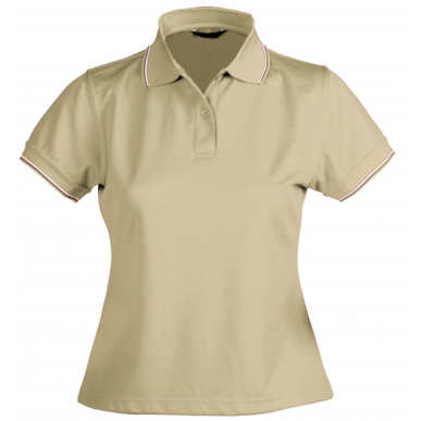 Picture of Stencil Uniforms-1110D- Ladies S/S LIGHTWEIGHT COOL DRY POLO