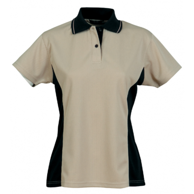 Picture of Stencil Uniforms-1032- Ladies S/S ACTIVE POLO