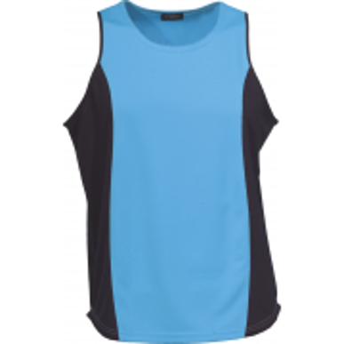 Picture of Stencil Uniforms-1010F-Mens Sleeveless COOL DRY SINGLET