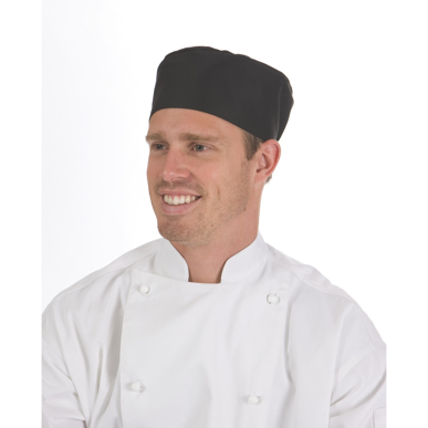 Picture of DNC Workwear-1602-Flat Top Chef Hat