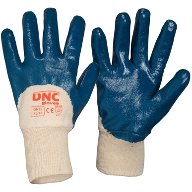 Picture of DNC Workwear-GN32- Blue Nitrile 3/4 Dip