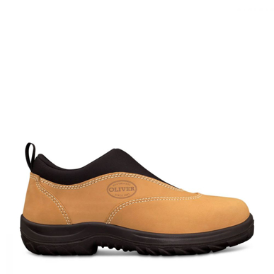 Picture of Oliver Boots-34-615-WHEAT SLIP ON SPORTS SHOE
