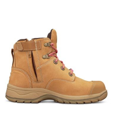 Picture of Oliver Boots-49-432Z-WOMEN'S WHEAT ZIP SIDED BOOT