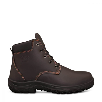 Picture of Oliver Boots-26-636-CLARET LACE UP BOOT