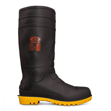 Picture of Oliver Boots-10-105-KING'S BLACK SAFETY GUMBOOT WITH PENETRATION PROTECTION
