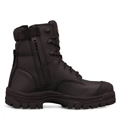 Picture of Oliver Boots-45-645Z-150MM BLACK ZIP SIDED BOOT