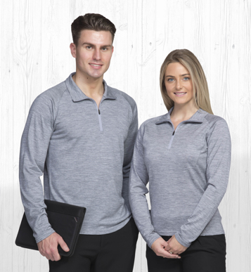 Picture of Gear For Life-EGMZ-Merino Zip Pullover - Mens