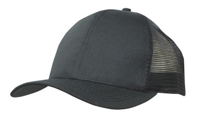 Picture of Headwear Stockist-3819-Breathable Poly Twill With Mesh Back