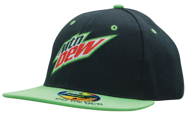 Picture of Headwear Stockist-4137-Premium American Twill Youth Size with Snap Back Pro Junior Styling