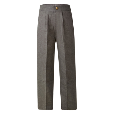 Picture of LW Reid-45552K-Parkes Melange Double Knee Long Pants