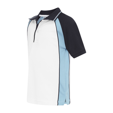 Picture of LW Reid-5760FP-Craig Raglan Panel Sports Polo