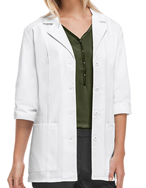 Picture of Cherokee Uniforms-CH-1470-Cherokee Women's Two Pocket 30 Inches Short Medical Lab Coat