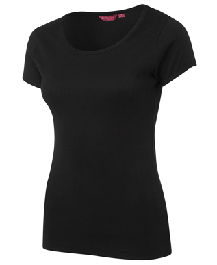 Picture of JBs Wear-1LSNT-JB's LADIES SCOOP NECK TEE
