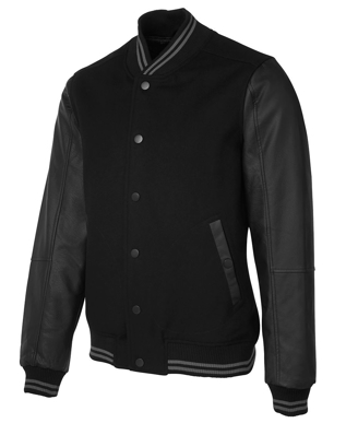Picture of JBs Wear-3BLJ-JB's ART LEATHER BASEBALL JACKET