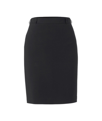 Picture of NNT Uniforms-CAT29W-BKP-Mid Length Pencil Skirt
