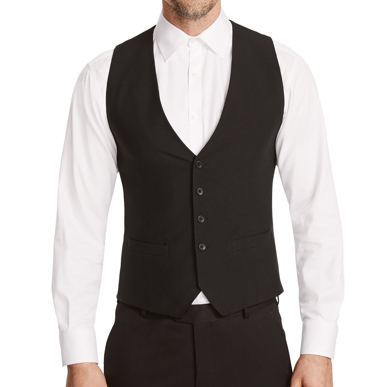 Picture of NNT Uniforms-CATBA3-BLK-Waistcoat