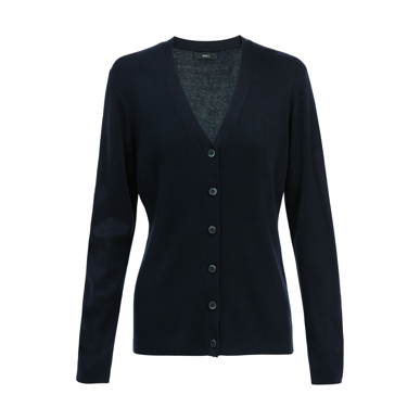 Picture of NNT Uniforms-CAT5BR-NAV-Button front cardigan